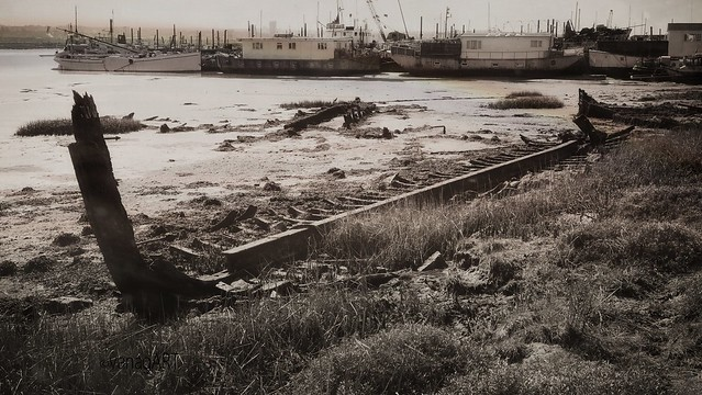 From series: The last port Life on the River Medway. Past and Present. Hoo St. Werburgh_ Kent_ England