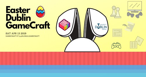 Easter Dublin GameCraft 2019 FB | by whykay