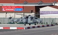 Royal Navy Agusta Westland AW159 Wildcat HMA2 ZZ414 at RAF Gibraltar/LXGB