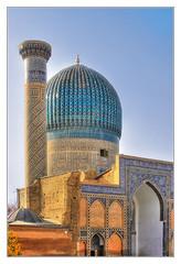 Samarqand UZ -  Gur-e-Amir Mausoleum 20