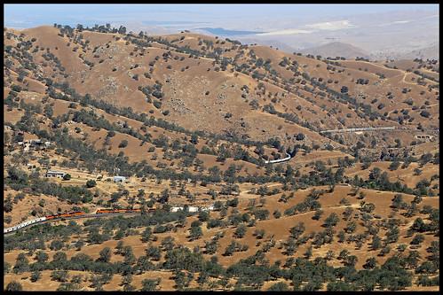 bnsf tehachapi pass california ca cliff rowen mojave subdivision up sp atsf tunnel 8