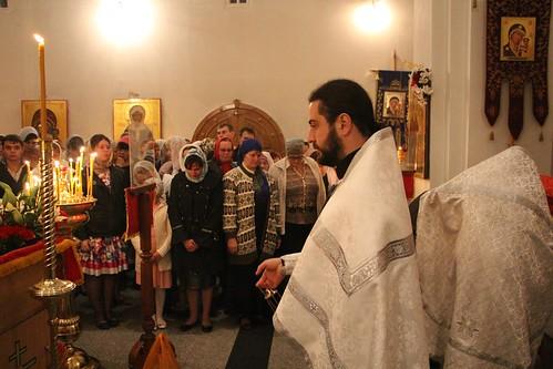 Пасхальное Богослужение в Свято-Никольском храме станицы Кавказской IMG_1200