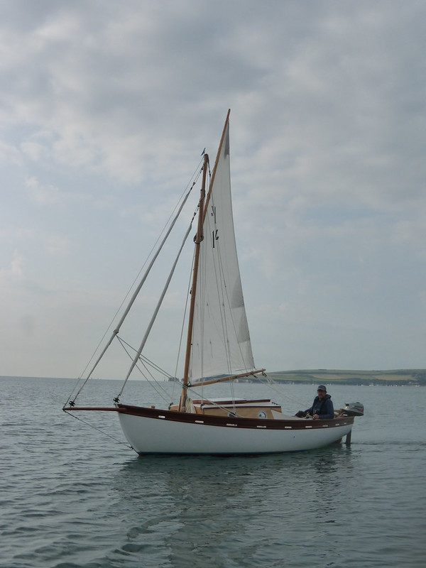 63. Emmelène's First Voyage - and gaff rig