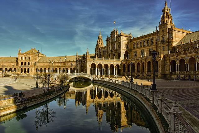 La irresistible Plaza de España V. Sevilla.