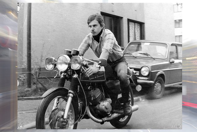 Loran, Kawasaki  250 A1 SamouraÏ en 1973