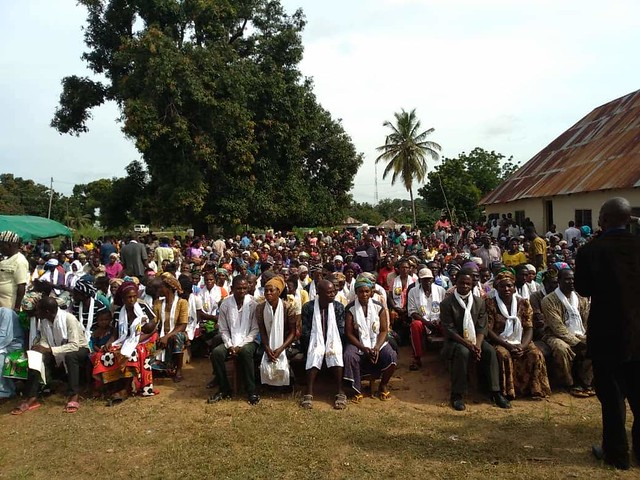 Nigeria-2018-10-16-1,337 Couples Attend Blessing Event in Daudu, Nigeria