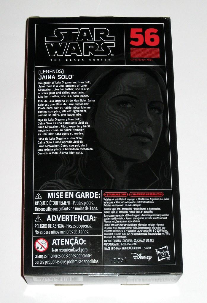 "Star Wars the Black Series Jaina Solo Legends 6/"" Action Figure New MIB"