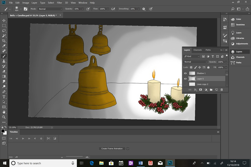 Bells + Candles