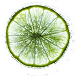 Lime on white - Lime sur blanc