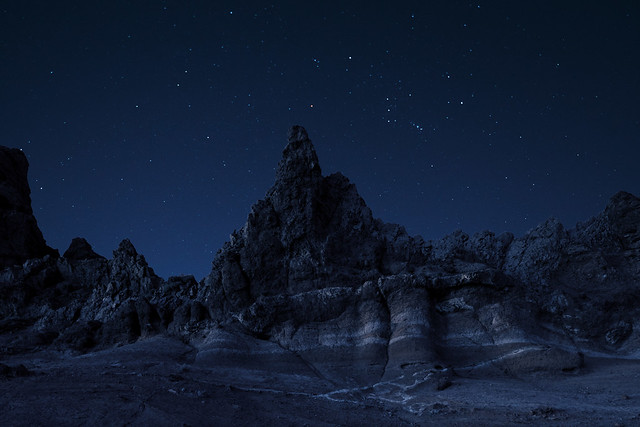 Orion above Teide caldera