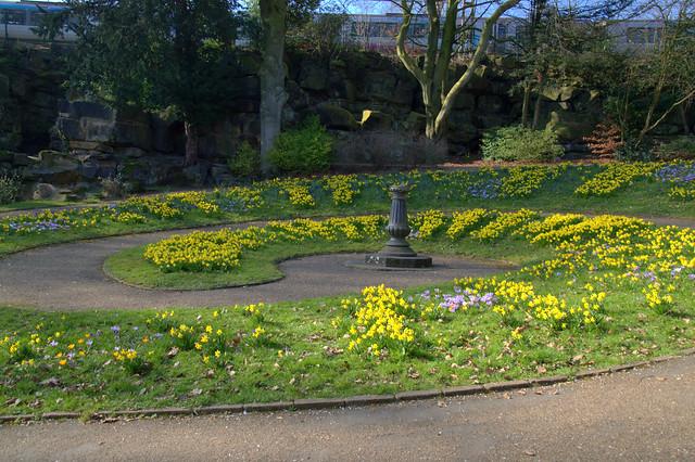 Sundial at Miller Park, Preston