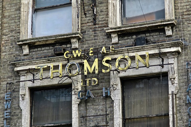 GW and AE Thomson, London, UK