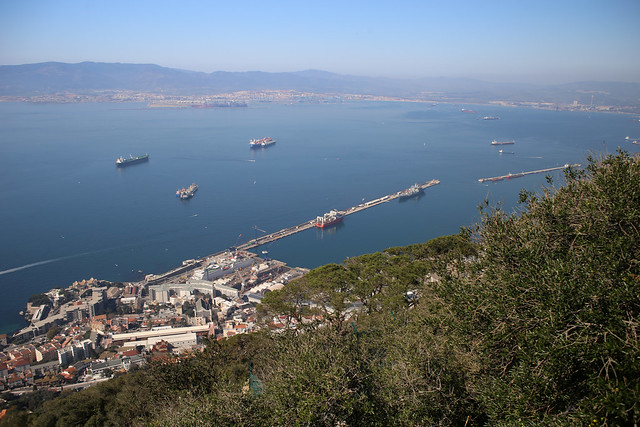 The harbour, Gibraltar