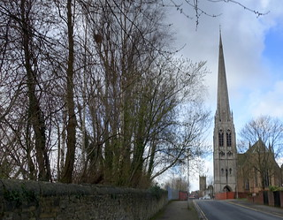 St Walburges Church in the distance | by Tony Worrall