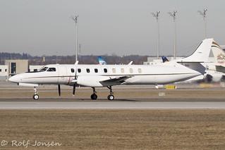 502 Fairchild C-26 Metroliner United States Navy Munich airport EDDM 17.02-19 | by rjonsen