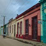 Escena de una calle en Sagua