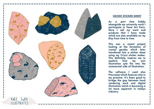 Geode Sticker Sheet