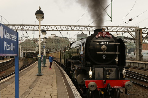 "Leaving On A Steam Train ""Explored"" 