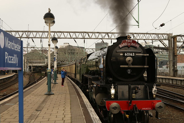 Leaving On A Steam Train