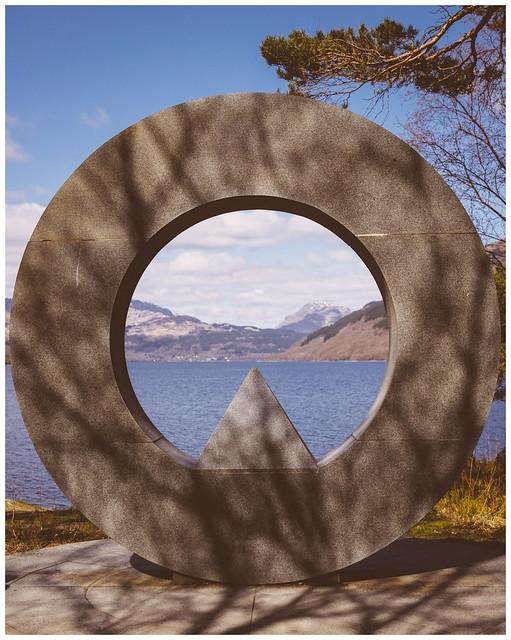 Memorial Sculpture, Loch Lomond
