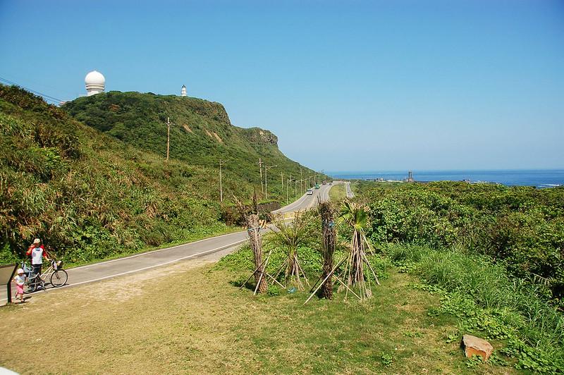 台灣本島極東點--三貂角遠眺三貂角燈塔