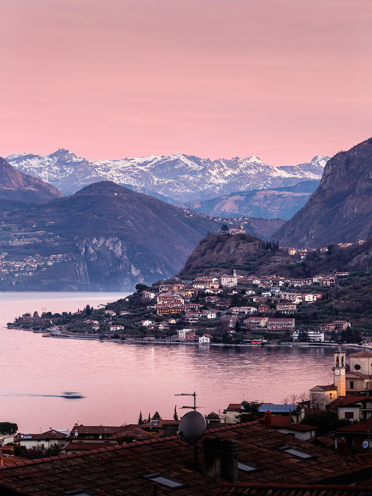 Lake Iseo at Dawn