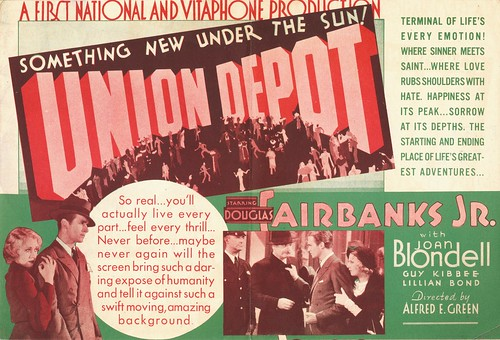 Union Depot Movie Herald, 1932