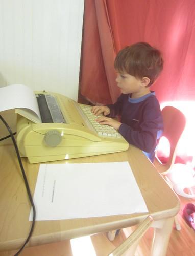typing time | by lyn.schmucker