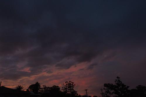 sunset sky weather merimbula cloudsstormssunsetssunrises