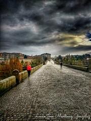 Ourense. Galicia. España. Puente romano. Roman Bridge.