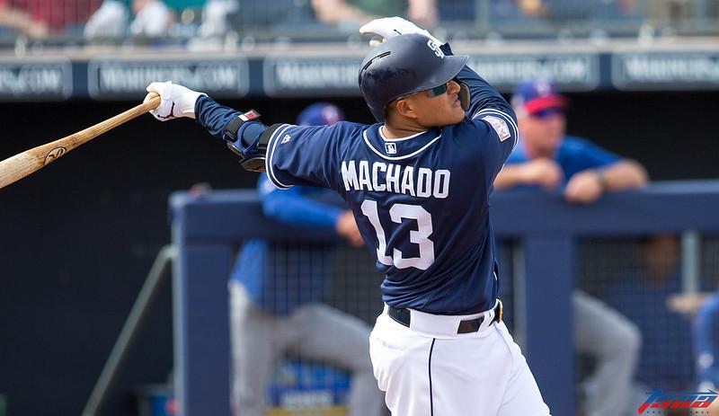 Manny Machado打擊狀態逐漸升溫中。(資料照,特約攝影侯禕縉/亞利桑那拍攝)