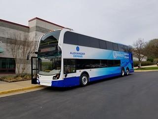 PRTC OmniRide double-decker commuter bus   by BeyondDC