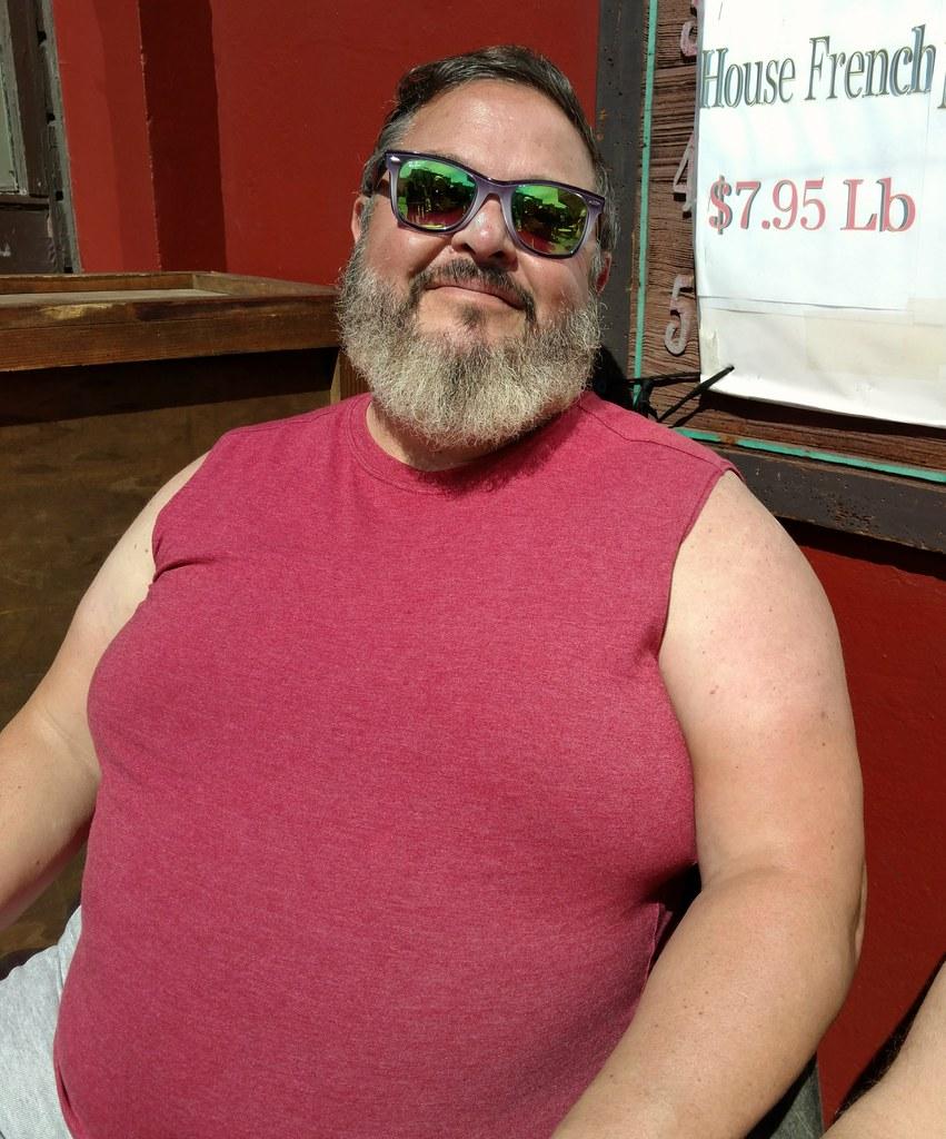 Handsome bearded Bearman ! ( safe photo )