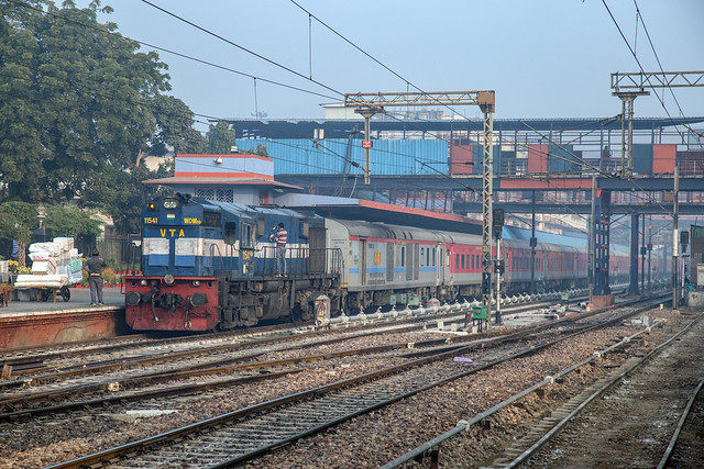 Indian Railways WDM-3D 11541 New Delhi