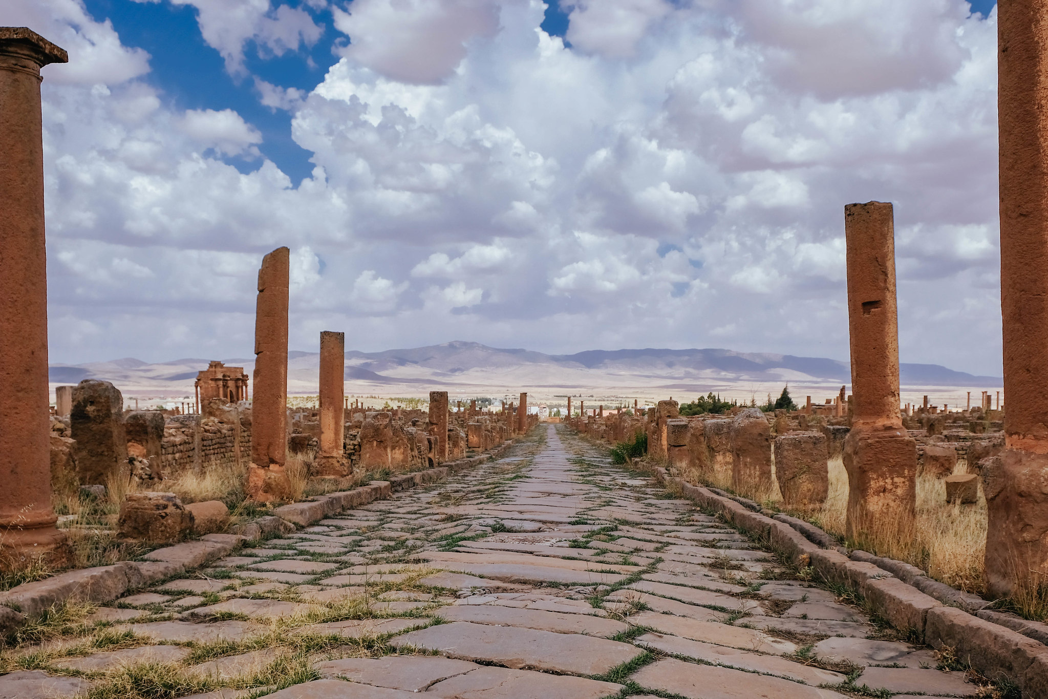 Collonade of Timgad
