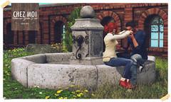 Stone Garden Fountain CHEZ MOI