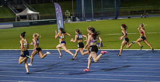 100 metres final NSW State titles | by Loraine Blythe