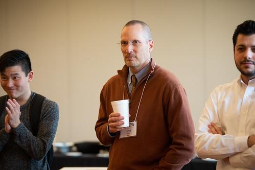 Dr. Greg Bier receives the Entrepreneurship Educator of the Year Award