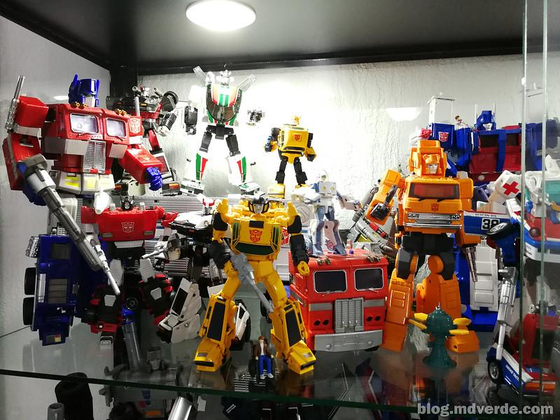 Mi colección de Transformers Masterpiece Autobots G1 1/2
