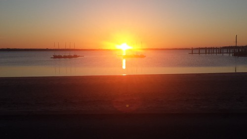 sunrise hyannis barnstable winter beach