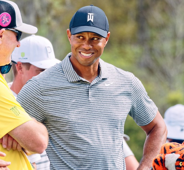 Tiger Woods 9th Tee TPC Sawgrass