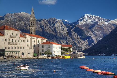 adriatic balkan jadran montenegro perast invierno winter