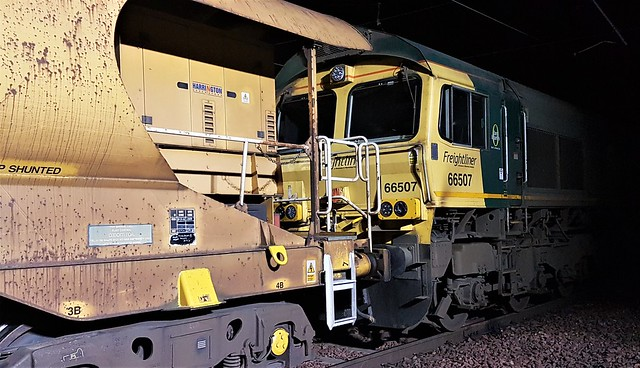 Freightliner Class 66 - 66507 at Millerhill Yard
