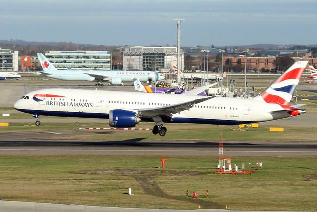 G-ZBKR  -  Boeing 787-9 Dreamliner  -  British Airways  -  LHR/EGLL 11-2-19