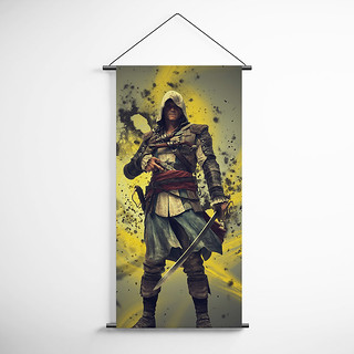 Assassin's Creed 41 Decorative Banner Flag for Gamers | by gamewallart