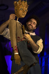 Sat, 2019-03-09 03:45 - puppet design by Tom Lee and Chicago Puppet Studio, with actor Sean Garratt