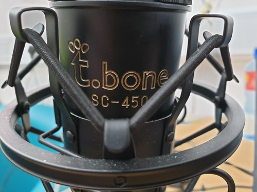 Friendly t.bone mic | by Bernie Goldbach