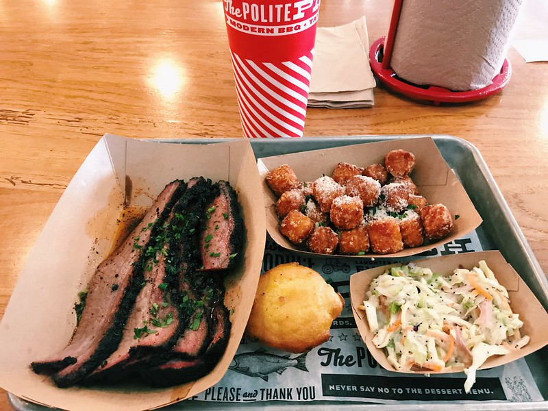 This is a picture of brisket from The Polite Pig in Disney Springs