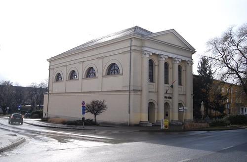 Rain & Counterlight: The Former Várpalota Synagogue   by Istvan