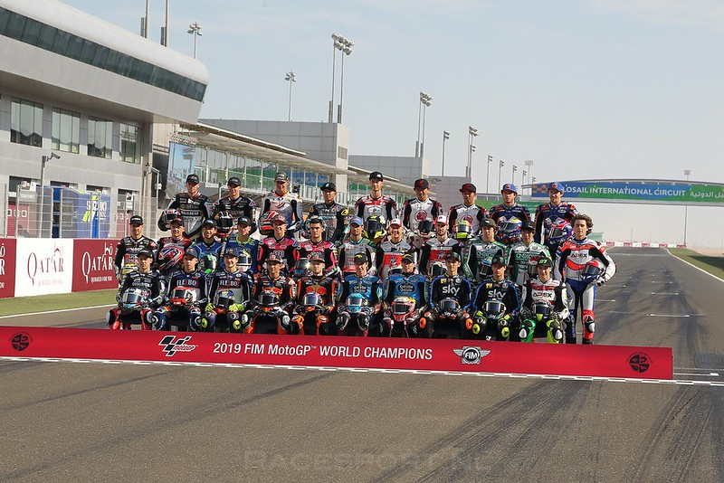 Moto2 startgrid 2019